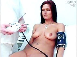 Sara gyno pussy speculum exam by kinky old doctor