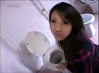 Asian Teen Toilet