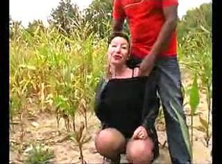 Amateur Interracial Mature Outdoor