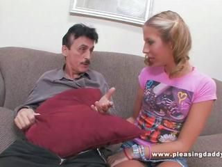 Old Guy Caught Jerking Off By Sexy Young Girl