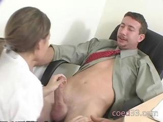 Hot young chick rages with her teacher