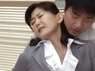 Asian Japanese Mature Teacher