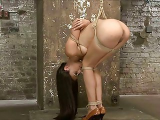 slim brunette tied 3