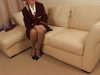 Sally Anal Ill-treat in FF Stockings