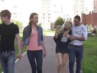 Cash Groupsex Public Russian Teen