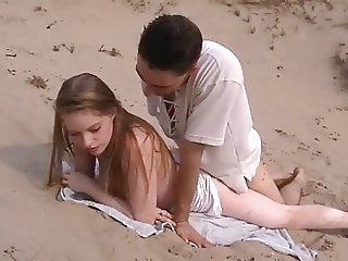 Beach Doggystyle Teen