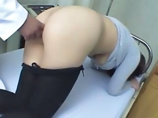 Asian Doctor Fisting Japanese