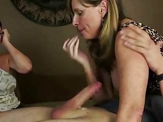 Mom Jodi Shows Her Friend How It's Done To Fuck not her son