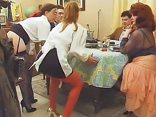European Family French Groupsex Vintage