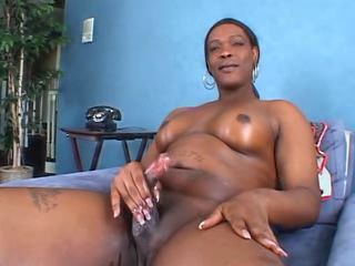 Black Shemale Cum