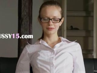 Glasses Skinny Teen