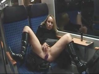 German Public Train Sex