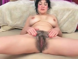 Super Hairy Pussy on A Busty Brunette by TROC