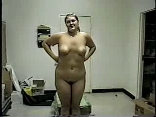 Amateur Chubby Homemade  Stripper