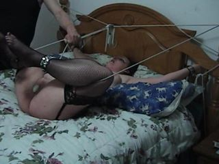 It s been awhile since I did a straight up BDSM clip and I figured Myzeray was due for some extended pain So I figured Pussy Torture was something it was time she really became familiar with I tie her arms spread legs in the air for maximum expo