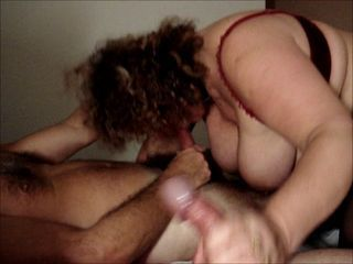Amateur  Blowjob Mature Threesome Wife