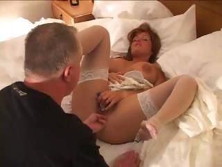 Amateur Cuckold  Stockings Wife