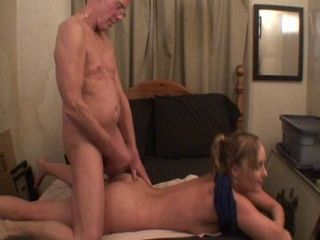 Jerked Off and Cum on Her Ass