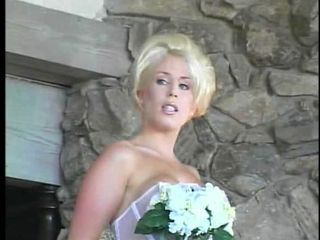 Amazing Blonde Bride