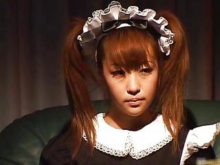 Asiatiske Japansk  Stuepige Teenager uniform