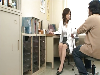 Asian Doctor Japanese Mature Uniform