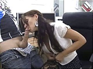 Amateur  Blowjob Clothed   Office Secretary