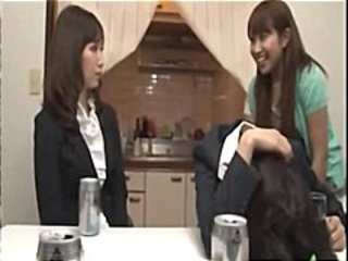 Asian Drunk Japanese Kitchen Lesbian Teen