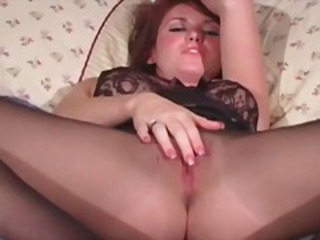 Hot sexy body redhead nasty babe part1