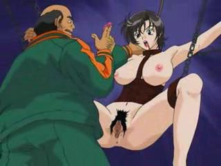 Anime Tortured By A Huge Cock