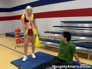 Megan Moore Cheerleader Fucked