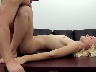 Amateur Blonde Casting Skinny Small Tits Teen