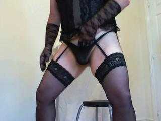 Dancing Sissy Crossdresser