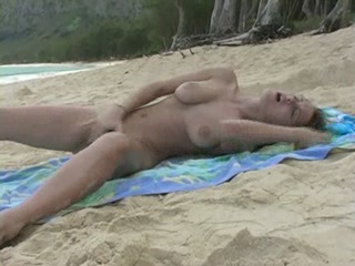 Beach Masturbating Orgasm Outdoor Teen