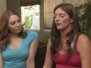 Alicia Silver interviews and fucks Adriana Leigh