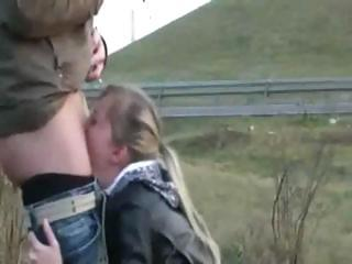 Deepthroat Outdoor Teen