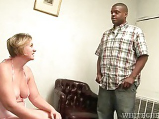 Black guy licks the armpits of a fat chick tubes