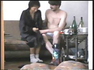 Sex with his skinny wife on video tubes