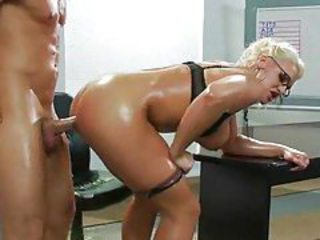 Big Tits Doggystyle Glasses  Oiled