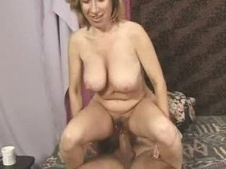 Big Tits Mature Natural Riding  Wife
