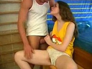 European Handjob Spanish Teen Vintage