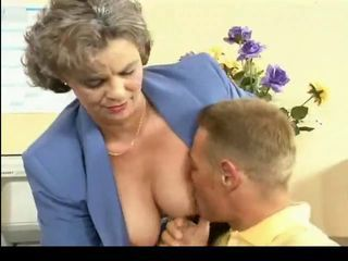 Busty Hairy Mom Needs Young Load of shit by TROC