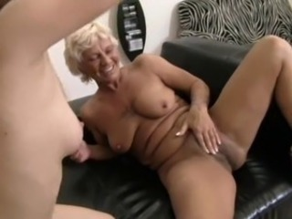 Foursome Two Guys, Teen and Older Woman 2