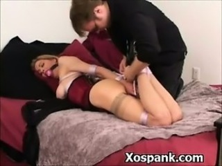 Bdsm Whore Spanked In Ass