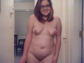 Chubby Glasses Stripper Teen