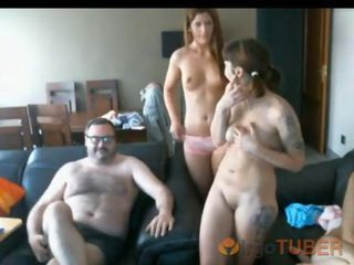 Tattoo Teen Threesome Webcam