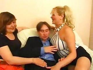 a handful of russian bbw matures one guy