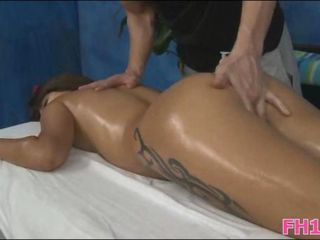Massage Oiled Tattoo Teen