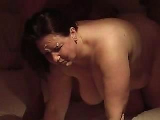 Amateur  Big Tits Cumshot Facial Homemade  Wife