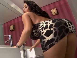 Ass Bathroom Doggystyle Latina