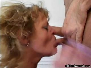 Dirty mature slut gets fucked